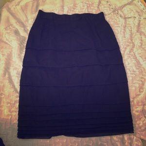Dresses & Skirts - ♻️VINTAGE♻️ Madeleine 100% New Wool Tiered Skirt